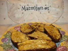 Recette Aubergines au micro-ondes Microwave Dishes, Microwave Recipes, Cooking Recipes, Vegetarian Recipes, Healthy Recipes, Healthy Food, Cloud Bread, Main Dishes, Delish