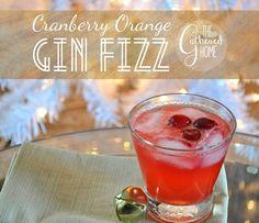 Drink This: Cranberry Orange Gin Fizz
