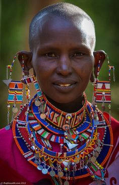 The Masai People of Kenya African Tribes, African Women, African Art, East African Rift, Kenya Africa, South Africa, Kenya Nairobi, Thinking Day, African Jewelry