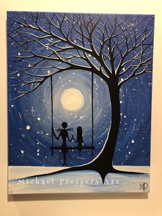 By Michael Prospers Art Jack And Sally, Silhouette Art, Tim Burton, Paint Brushes, Paintings For Sale, Nightmare Before Christmas, Awesome, Artist, Artwork