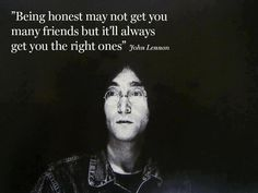 Being honest may not get you many friends