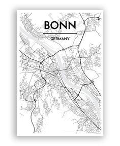 Bonn City Map