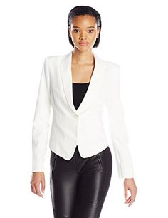 White Tux Jacket, Tuxedo Jacket, Bowie, Off White, Work Wear, Dresses For Work, Blazer, Costumes, Jackets