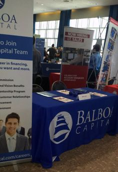Balboa Capital has a booth at the #UCLA career day. We are meeting with students and letting them know about our #internship and full-time career opportunities in #finance, #sales and #customerservice