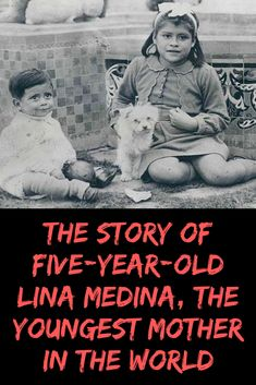 The Story Of Five-Year-Old Lina Medina, The Youngest Mother In The World. popular media# Worst Ever Lina Medina, Worst Celebrities, Fashion Fail, 5 Year Olds, New Pins, Fails, Weird, Celebrity, Lol