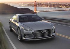 Audi A9 e-tron : la Tesla Model S aux anneaux attendue en 2020
