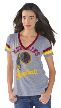 This super-soft, tri-blend tee, accented with a rhinestone-studded logo,allows you to still be girlie while you're shop-talking with the guys!