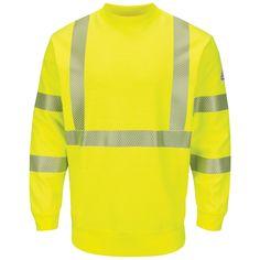 Bulwark SMC4 Class 3 Crewneck Fleece Sweatshirt HRC-2 e046860169
