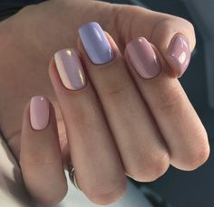 Easy Matte Nail Designs Ideas You'll Love - Page 21 of 62 Need new nails? We have gathered 62 stylish matte nails to inspire you. Matte can be used to create many different looks. Nails Polish, Gelish Nails, Perfect Nails, Gorgeous Nails, How To Do Nails, Fun Nails, Purple Nail Designs, Rainbow Nails, Pastel Nails