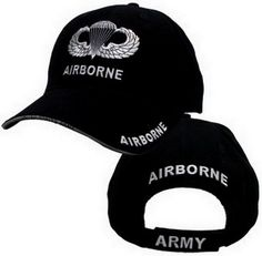 57ad3932e71 Airborne Jump Wings Cap Military Cap