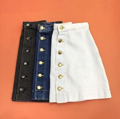 Pac Sun has some on-trend skirts like this right now!