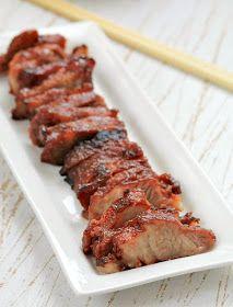 my bare cupboard: Char siu - Chinese barbecued pork
