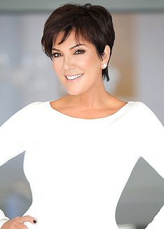 Brilliant Flawless Skin Search And Kris Jenner On Pinterest Short Hairstyles Gunalazisus