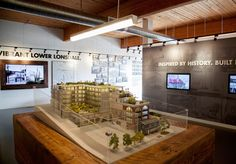 Sales Center, Leasing Office, Interior Design Sketches, Sales Office, Arch Model, Showroom Design, Real Estate Sales, Lobbies, Sales And Marketing