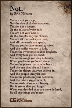Quotes deep poems erin hanson New ideas Poem Quotes, True Quotes, Words Quotes, Qoutes, Magic Quotes, The Words, More Than Words, Pretty Words, Words For Amazing