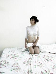 "Saatchi Online Artist: Beo Nguyen; Digital, Photography ""body painting"""