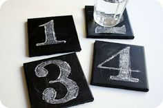 Chalkboard ideas. So cute!