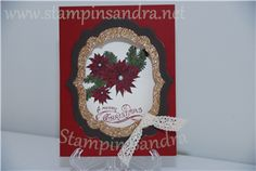 Bells & Boughs Christmas Card - Stampin' Up! Idea