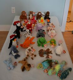 Rare Beanie Babies collection, Retired Beanies for sale Featuring Princess Diana, Hope, Legs the Frog, and many more! Offers welcome Beanie Babies Value, Rare Beanie Babies, Beanie Baby Bears, Ty Beanie Boos, October 14, Princess Diana, Beanies, Cool Toys, Crochet Toys