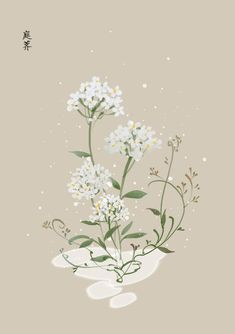 bạch sắc_cổ phong hoạ Korean Painting, Chinese Painting, Graphic Design Illustration, Illustration Art, China Art, Fabric Painting, Japanese Art, Aesthetic Wallpapers, Flower Art