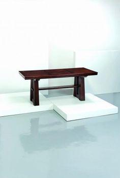Lot : OSVALDO BORSANI (attrib. a) - Tavolo anni '40. Legno di rovere  - cm 78x200x89, con[...]   Dans la vente Design - 2nd Part à Wannenes Art Auctions