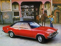 Opel Rekord Coupe (1972 – 1977).