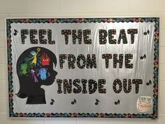 """""""Inside Out"""" Music Classroom Bulletin Board"""
