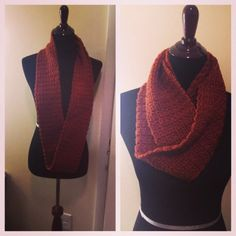 Ready to ship Textured Infinity Scarf by HookSmart on Etsy ($32.00)