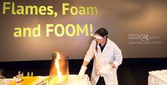 mini fire tornado science experiment