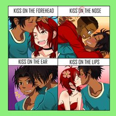 Kiss Meme - Total Drama feat. Mike and some Zoke by ximsol182.deviantart.com on @DeviantArt