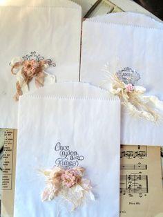 Stamped Gift Bag Trio..By: Noelle Garrett Designs