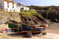 Boats at Portloe, Cornwall