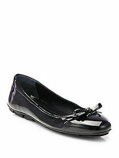 Prada - Patent Ballet Flats