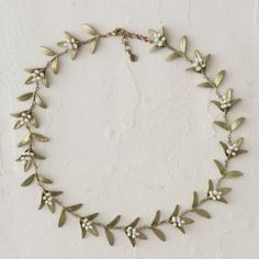 Flowering Myrtle Necklace in Gifts Gifts for Her (and You) Necklaces at Terrain