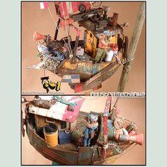 Waldo scale model kit  http://industriamechanika.com/shop/ian-mcque/33-ian-mcque-s-waldo.html?search_query=waldo