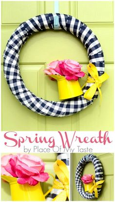 Spring Wreath by Place Of My Taste