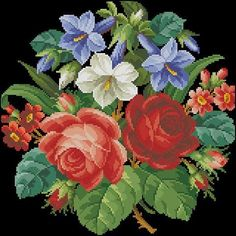 Victoria - Handmade Creations: Πέντε πανέμορφα μπουκέτα από λουλούδια