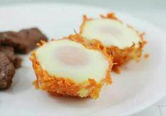 Sweet Potato Egg cups!