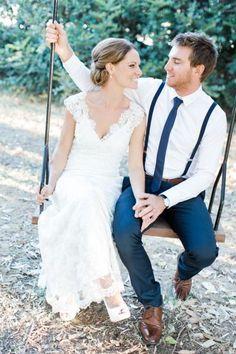 Intimate Australian wedding: http://www.stylemepretty.com/australia-weddings/western-australia-au/2015/06/04/casual-rustic-western-australia-farm-wedding/ | Photography: Nicolle Versteeg - http://nicolleversteeg.com/