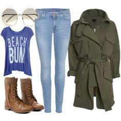 Cold Beach Walking by ellary-branden on Polyvore featuring Wildfox, Marissa Webb, 7 For All Mankind and Chloé