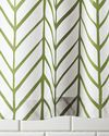 Feather Shower Curtain - Shower Curtains | Serena and Lily