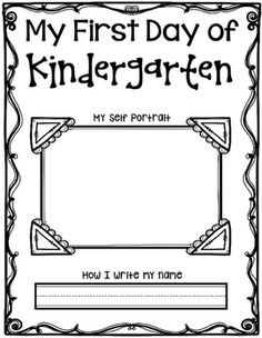 Hi Teachers! This freebie is for a Beginning of Kindergarten Self Portrait and an End of Kindergarten Self Portrait.Enjoy!