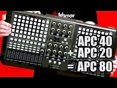 Did you ever want to make an ungodly sized Ableton controller out of two Akai APCs? Probably not, but here's a video that will show you how to do just that. | DEMONIC SWEATERS