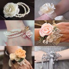 Determining Who Wears Flowers At Wedding For The Best Planning – Bridezilla Flowers Bridesmaid Corsage, Corsage Wedding, Diy Wedding, Wedding Gifts, Wedding Flowers, Prom Flowers, Wedding Bracelet, Wedding Jewelry, Wedding Wristlets