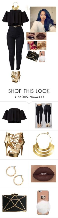 """""""Happy New Year Outfit Ideas #757"""" by medinea ❤ liked on Polyvore featuring GUESS, Hervé Van Der Straeten and Nordstrom"""