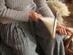 Erzeugen eines Kammzugs mit einreihigen Wollkämmen