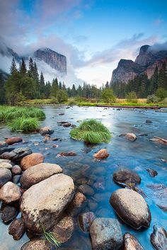 Yosemite Valley - So beautiful! I wish I could just hop into this photo. Amazing!