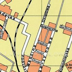 Коломия план міста станом на 1939 рік   Коломия