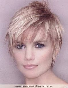 Image result for short hairstyles for diamond shaped face