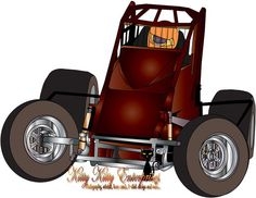 sprint car art on pinterest cars racing and tattoos and body art. Black Bedroom Furniture Sets. Home Design Ideas